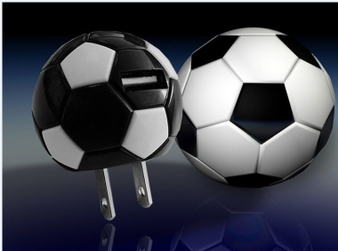 Soccer Shaped Electric Plug