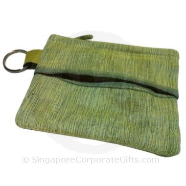 Cambodia 4-in-1 pouch (Tissue, Coin, Name card and Keychain)