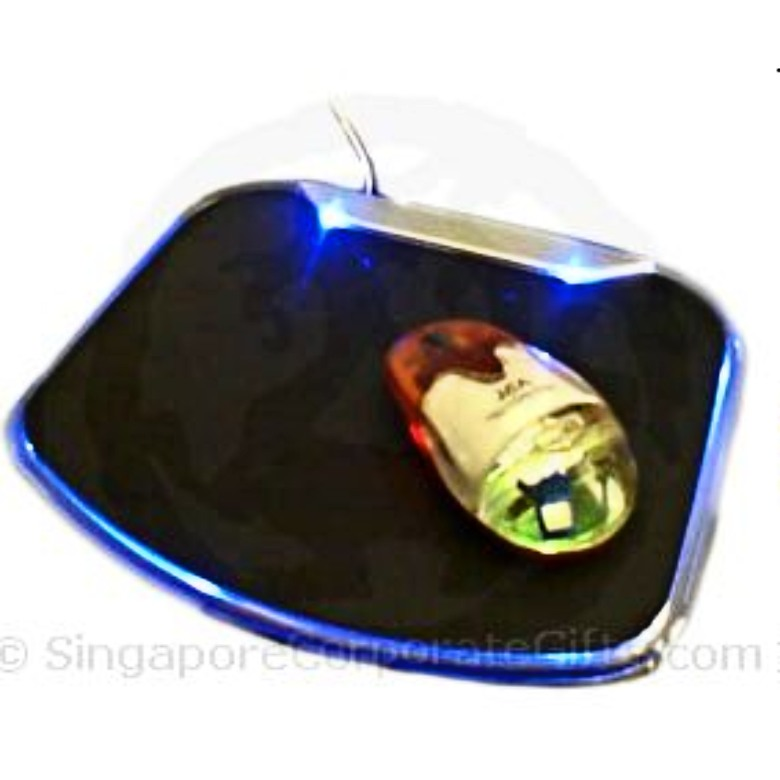 USB Mouse Pad With Lights